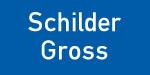 Kennzeichnungsschild blau-weiß - schilder-gross.de