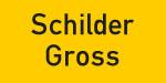 Kennzeichnungsschild gelb-schwarz - schilder-gross.de